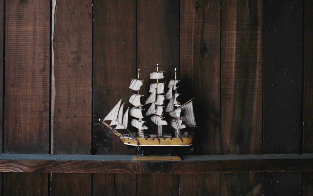 Barco na Tempestade